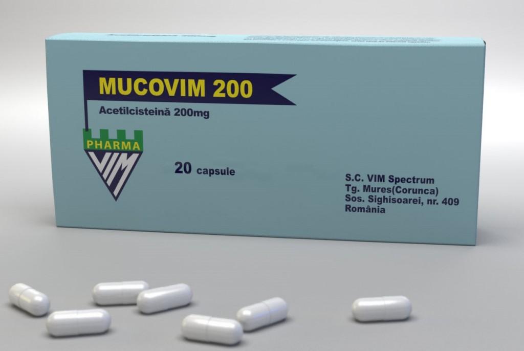 Mucovim 200 mg